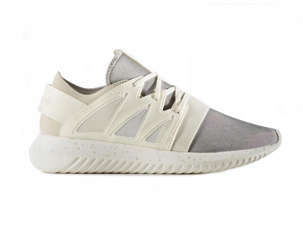 Buty sportowe damskie Adidas do biegania tubular z zamszu
