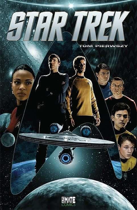 Star Trek - Tom 1 -komiks po polsku- BIAŁYSTOK