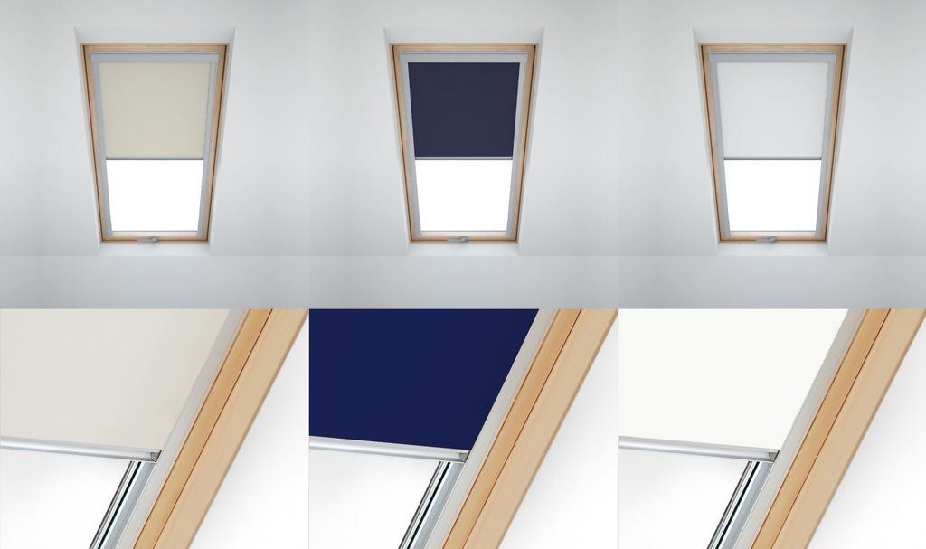 Rolety dachowe okna VELUX FAKRO DAKSTRA promocja! - 7362644183 - oficjalne archiwum Allegro
