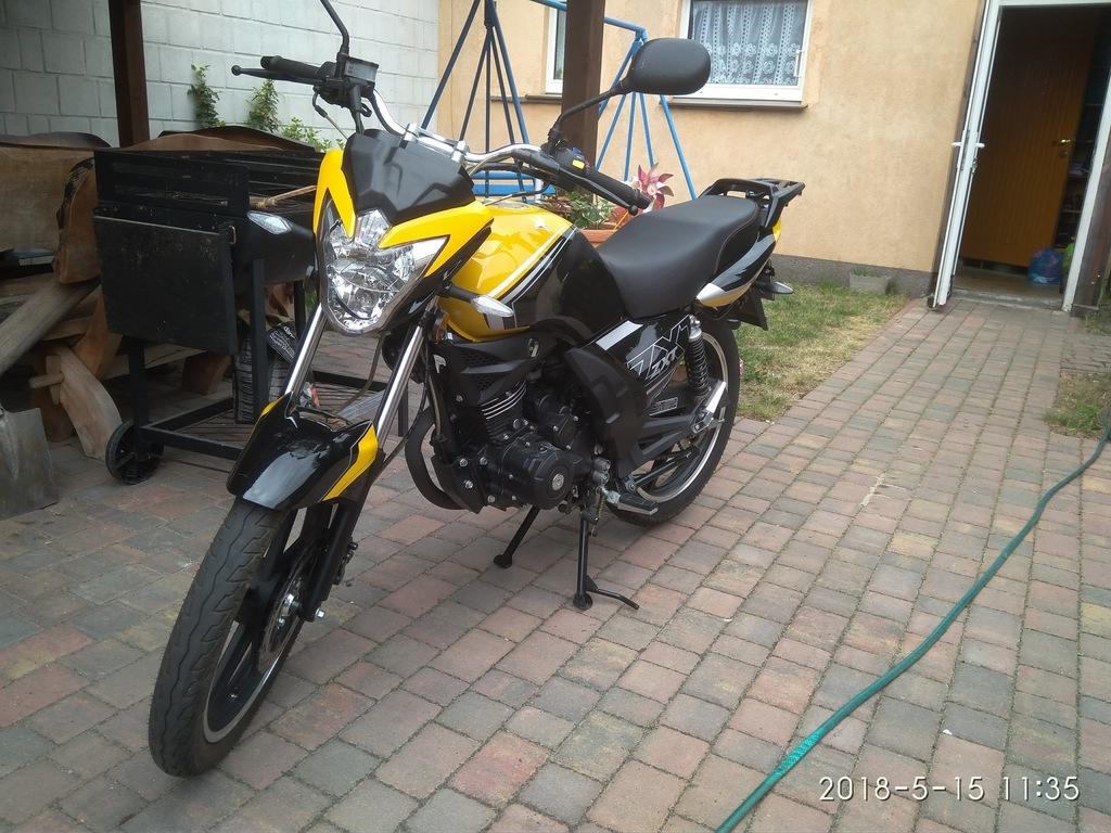 Motor Romet Zxt 125 10km 110km H Gwarancja 7336029023 Oficjalne Archiwum Allegro
