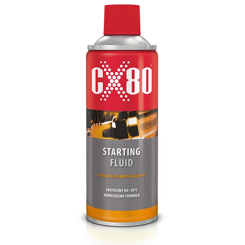 "CX80 STARTING FLUID SAMOSTART ""KOPCIUCH"""
