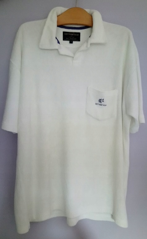 COTTONFIELD polo frotte XL
