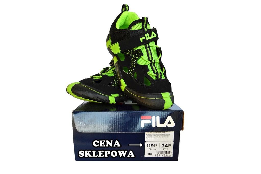Buty dziecięce sportowe sandały sandałki FILA 32