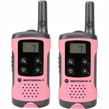 Motorola TLKR T41 ROŻOWY KROTKOFALÓWKI PMR