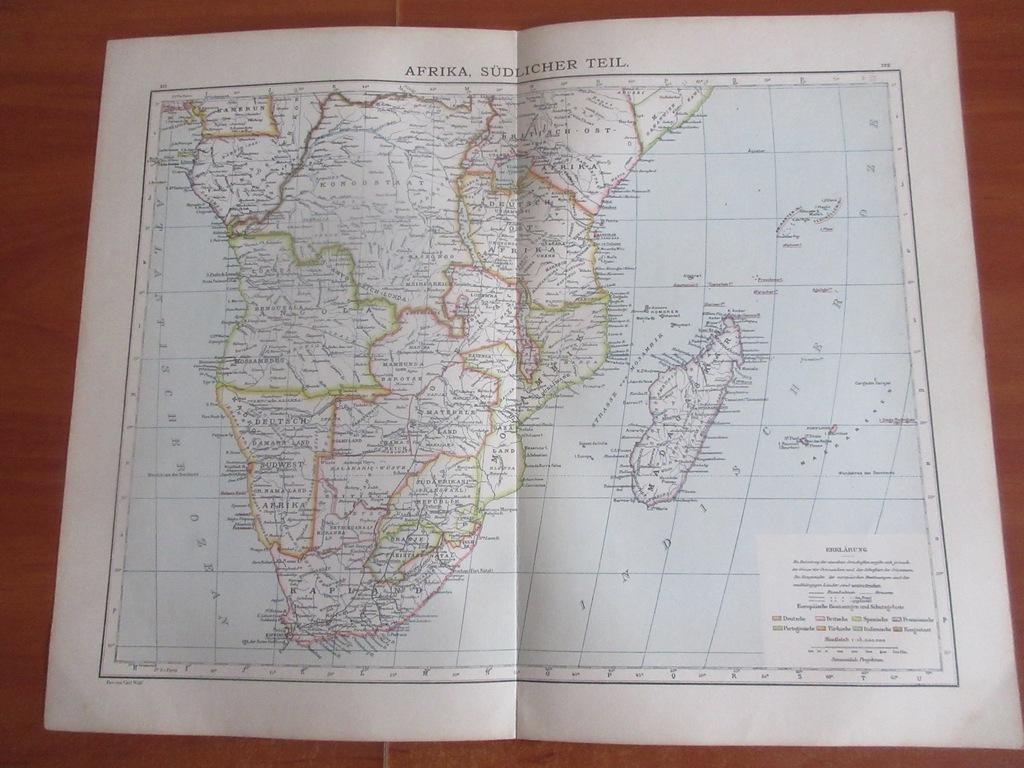 ANGOLA MADAGASKAR RPA NAMIBIA  1896 ROK