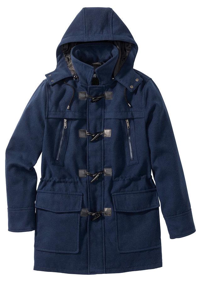 Płaszcz budrysówka z dom niebieski 60 XXL 972494