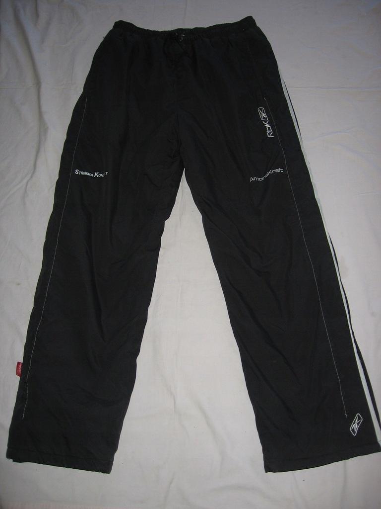 spodnie ocieplane hokejowe hokej Reebok XL Rbk
