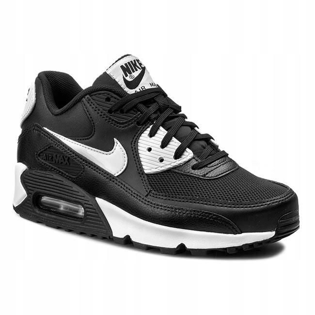 Nike air max 90 czarno białe w Buty damskie Allegro.pl