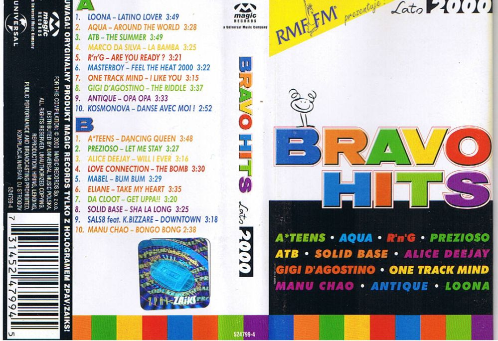Bravo Hits 2000