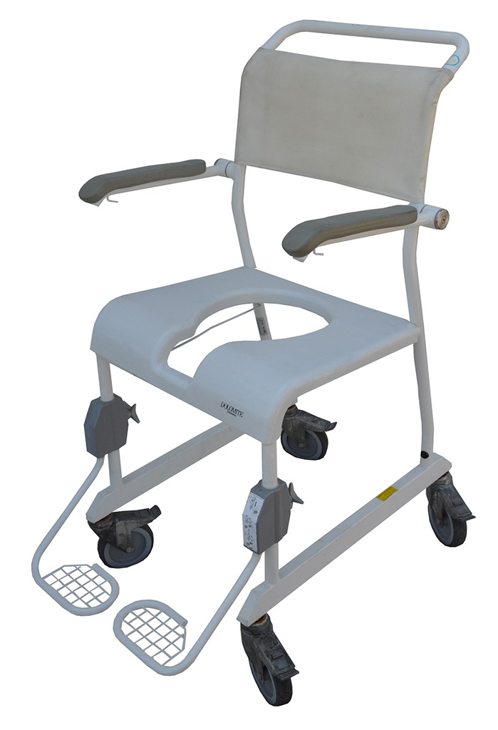Krzesło TOALETOWE łazienkowe Wózek SANITARNY