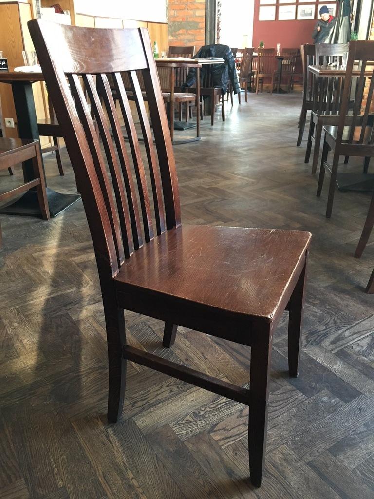 krzesła używane 36 sztuk Warszawa odbiór osobisty