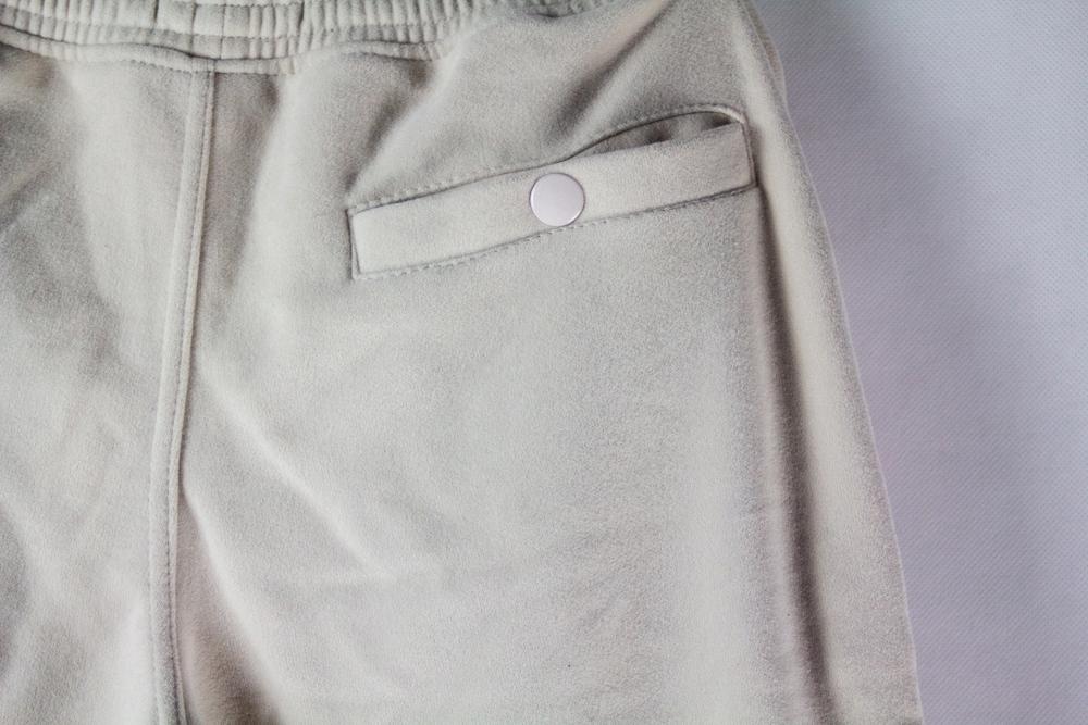 PLNY LALA Warsaw ciepłe spodnie lampas krem + róż