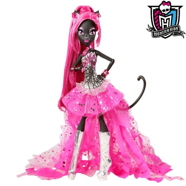 Monster High Lalka Catty Noir Czarna Kocica Unikat 7012258649 Oficjalne Archiwum Allegro