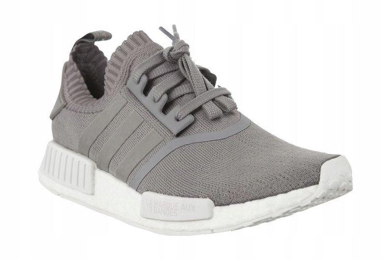 Szare Tekstylne Buty Sportowe Adidas r.37 13