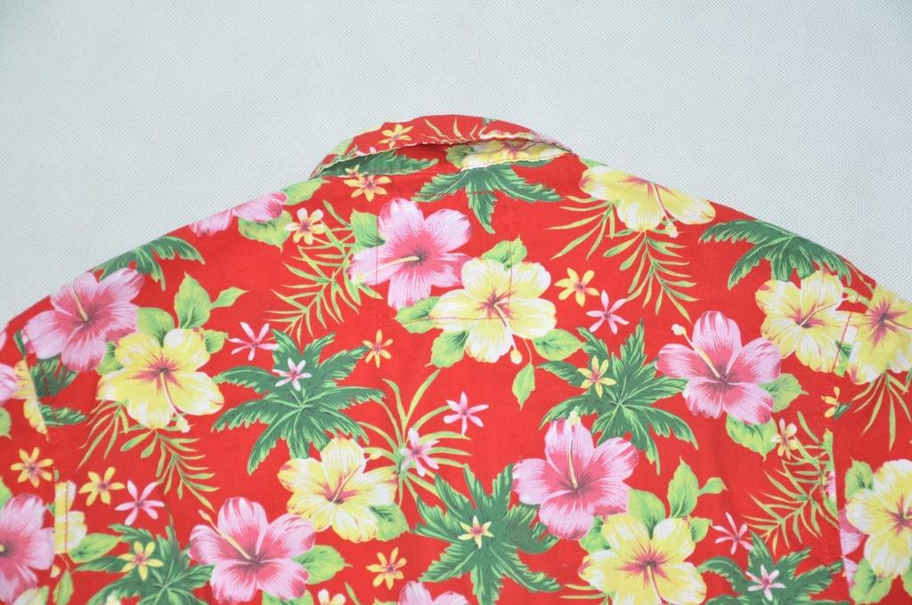 EASY koszula męska wakacyjna w kwiaty M 41 7482172378  RFCPW