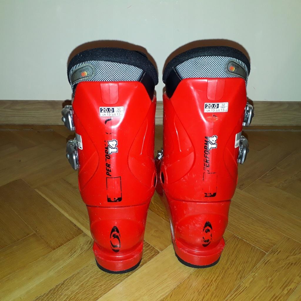 Buty narciarskie SALOMON PERFORMA T4 ROZMIAR 20,0