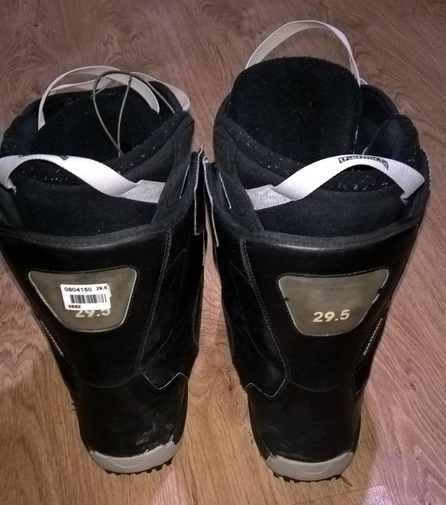 Buty na snowboard Salomon r.46 wkładka 29,5cm 7163191915