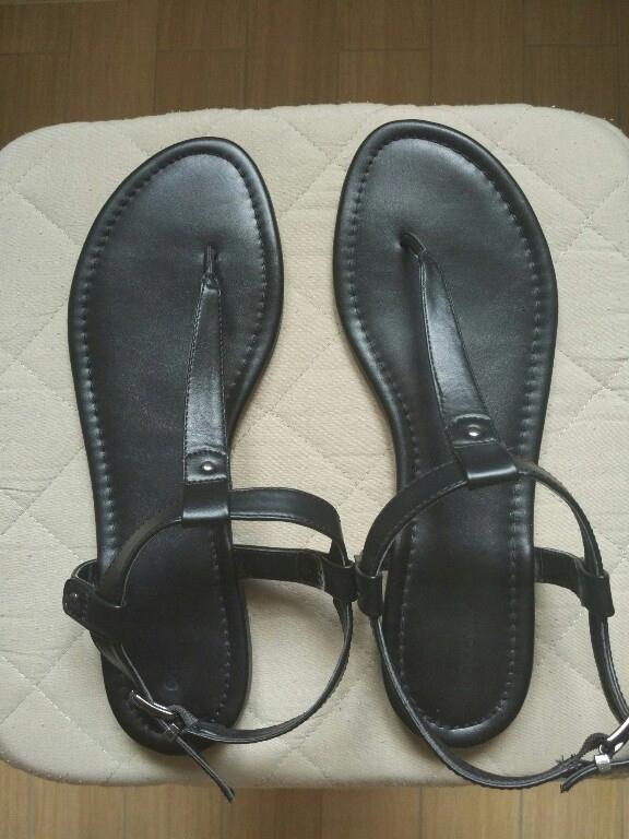 Sandały japonki czarne r. 42