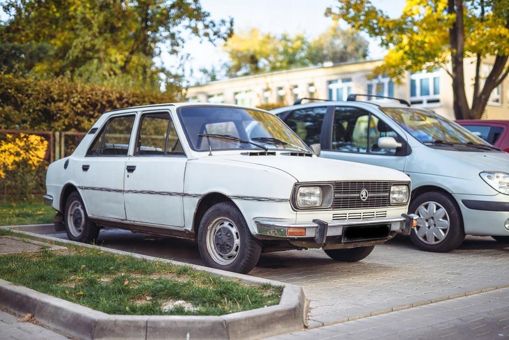 Skoda 105L rok 1983 przebieg 58010 km