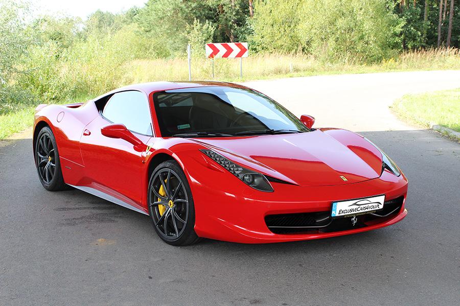 Wynajem Ferrari 458 Italia Warszawa Wroclaw Krakow 6924209457 Oficjalne Archiwum Allegro