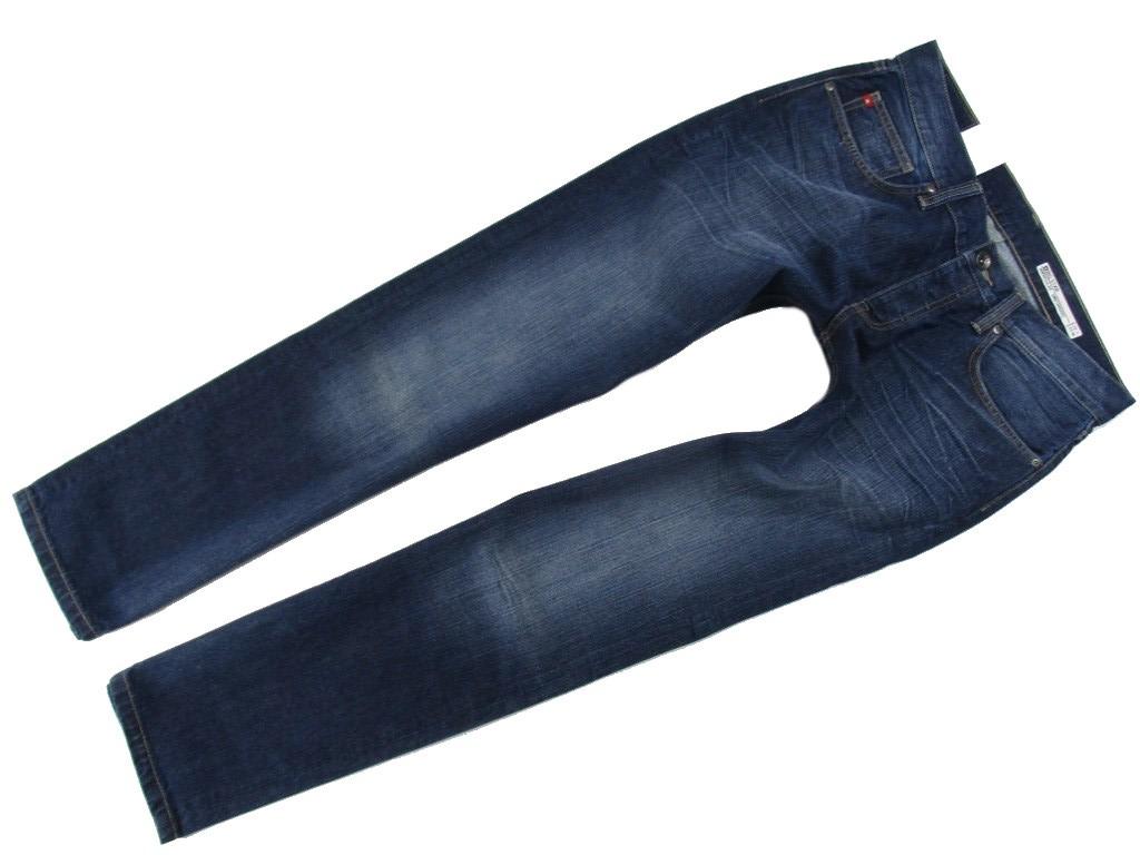 BIG STAR RONALD Spodnie Zwężane Stretch Man 3332