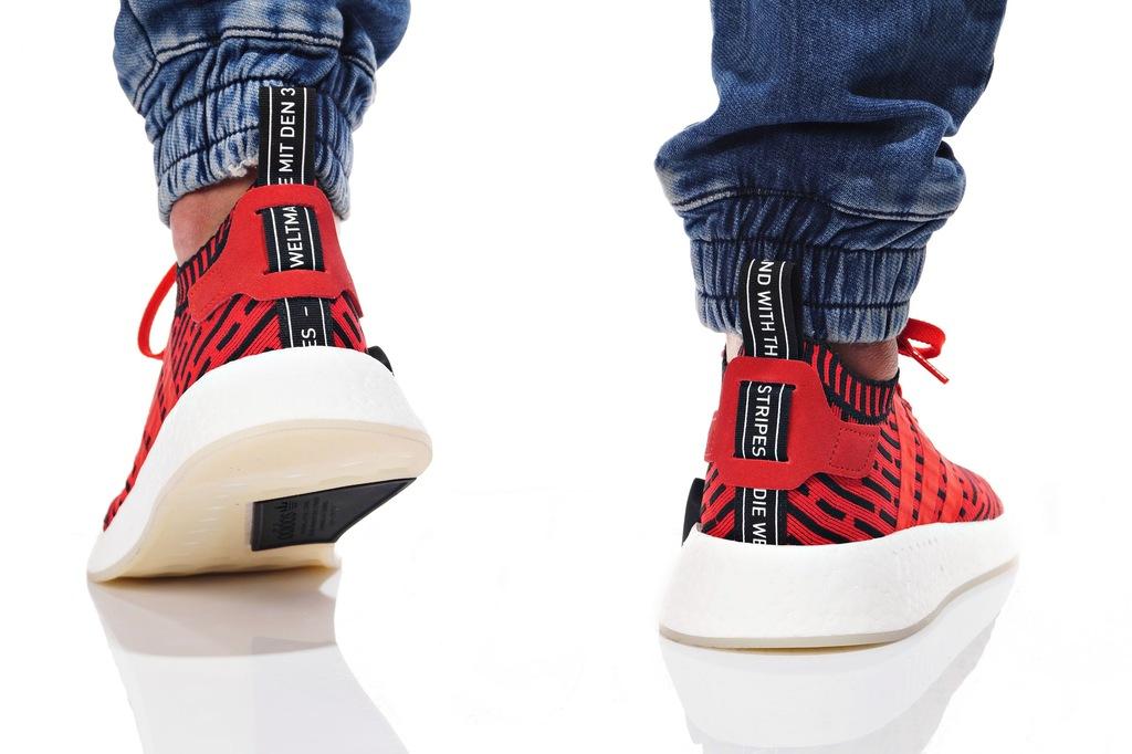 Adidas NMD R2 PK BB2910 czerwony