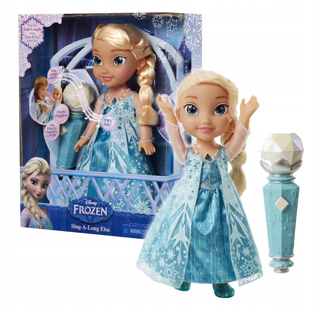Frozen Spiewajaca Elsa Z Mikrofonem Jakks 7695764722 Oficjalne Archiwum Allegro