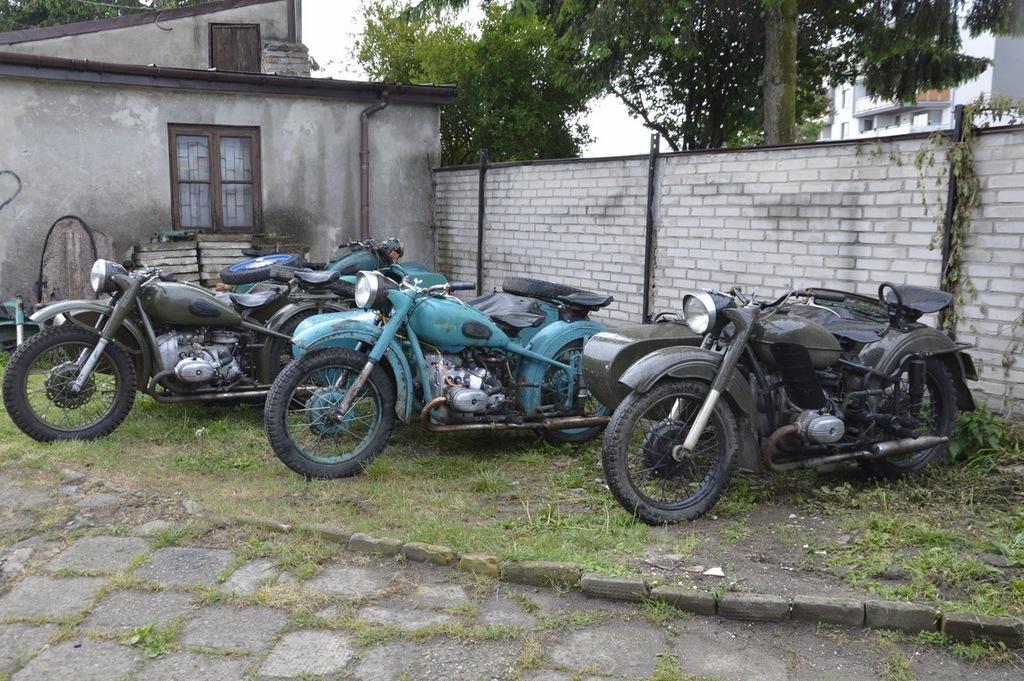 IRBIT M-62, POLSKIE DOKUMENTY, 40 MOTOCYKLI!