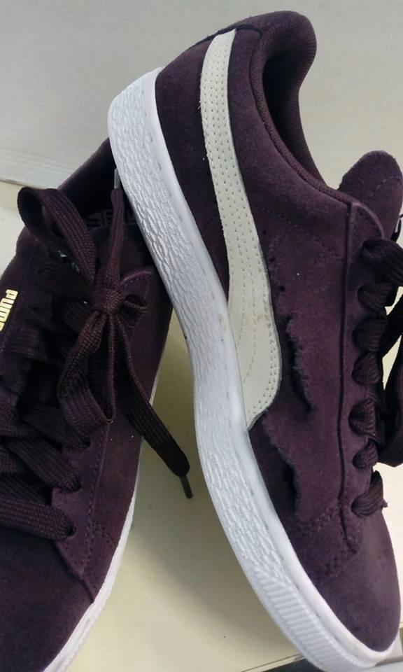 zpW3326 Puma Buty damskie Sneakersy 38 bordowe 7688058470