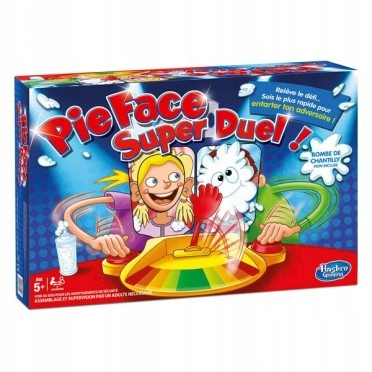 Gra Hasbro Pie Face Super Duel 7722515154 Oficjalne Archiwum Allegro