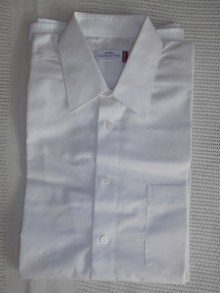 GLORIETTE koszula ECRU + krawat KWIATUSZKI 7616130572  r7MHY