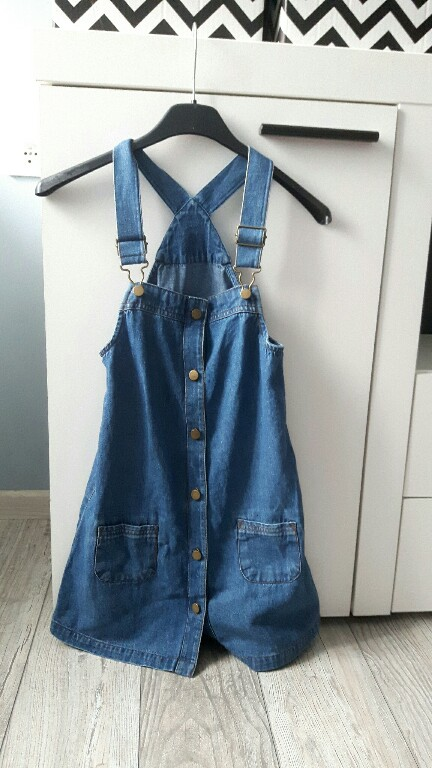 M&S miękka jeansowa sukienka 122