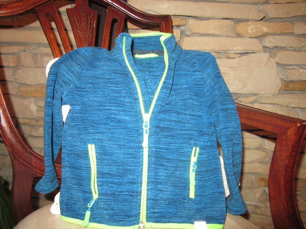 dziecięca bluza polar F4 roz. 98,jak nowa !