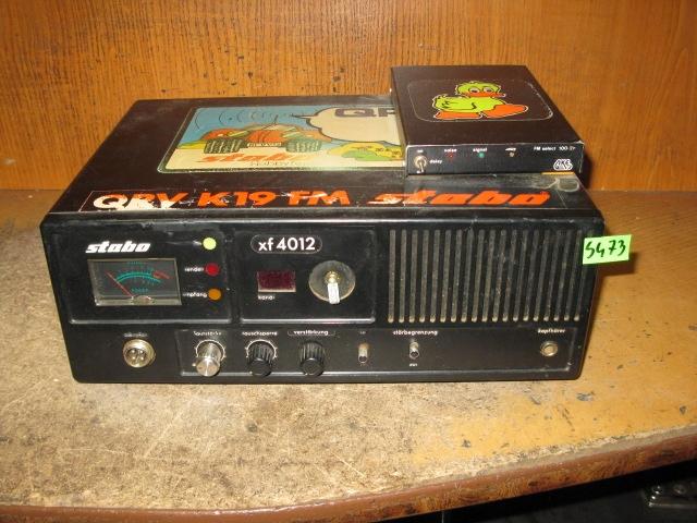 STACJONARNE CB RADIO STABO XF 4012 - NR S473
