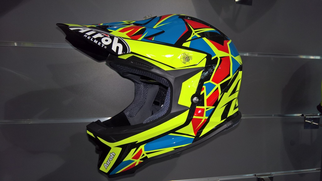 Kask Airoh Junior Archer Chief Blue Gloss roz. XS