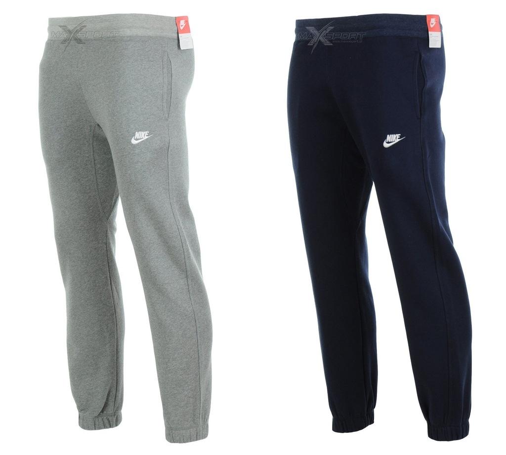 Spodnie Nike męskie bawełniane dresy L kurier Zdjęcie na