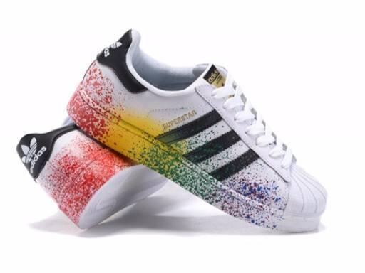 buty adidas superstar rainbow damskie