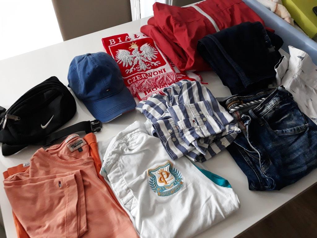 Mega paka ubrań męskich Hugo Boss,Hilfiger, Nike.