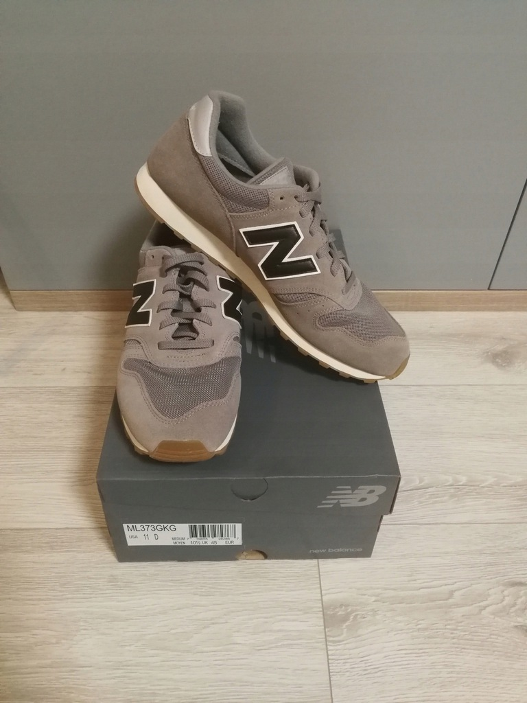 Nowe męskie buty New Balance ML373GKG r 45 D 29 CM