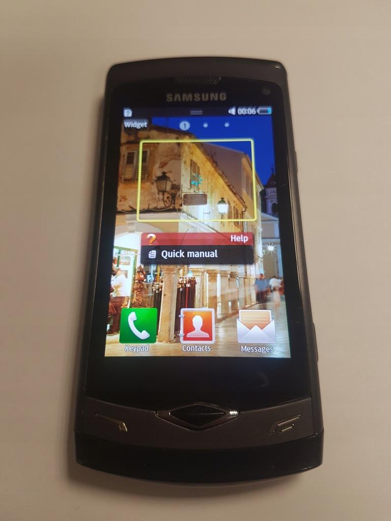 Samsung Gt S8500 Wave Sztuk 2 Uszkodzone 7576585052 Oficjalne Archiwum Allegro