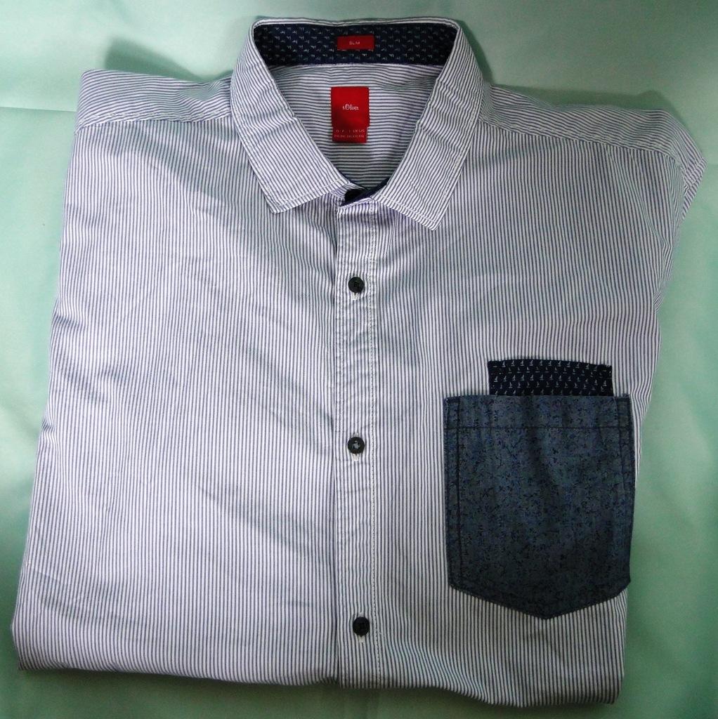 S.OLIVER - koszula męska rozm. XXL