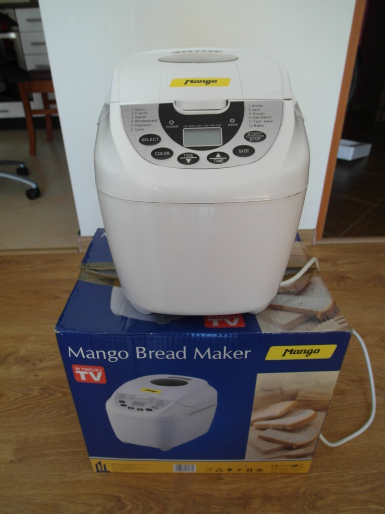 Wypiekacz, automat do chleba Mango Bread Maker ...