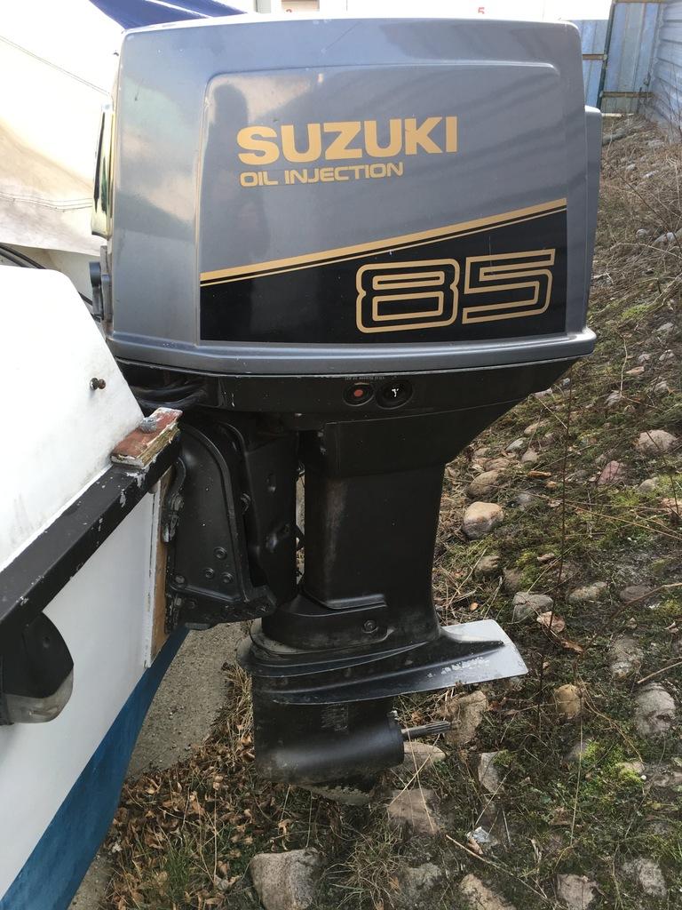 Silnik zaburtowy Suzuki DT 85 Trym Manetka Zegary