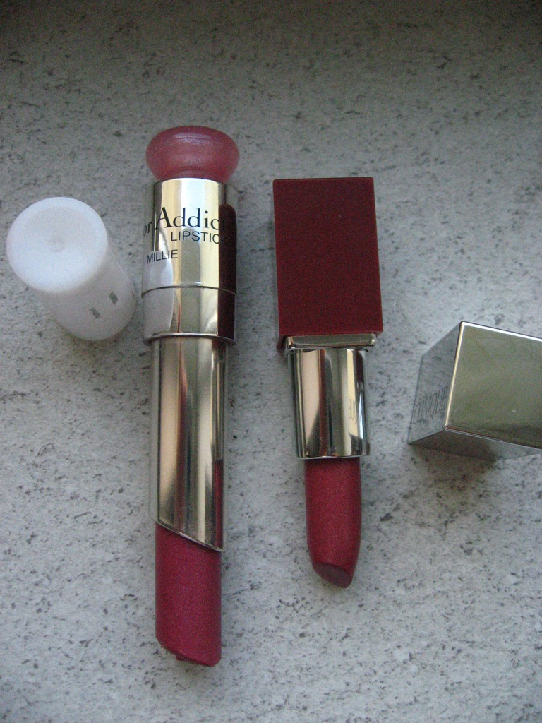 Pomadka Dior 680 + Clinique 13   - zestaw