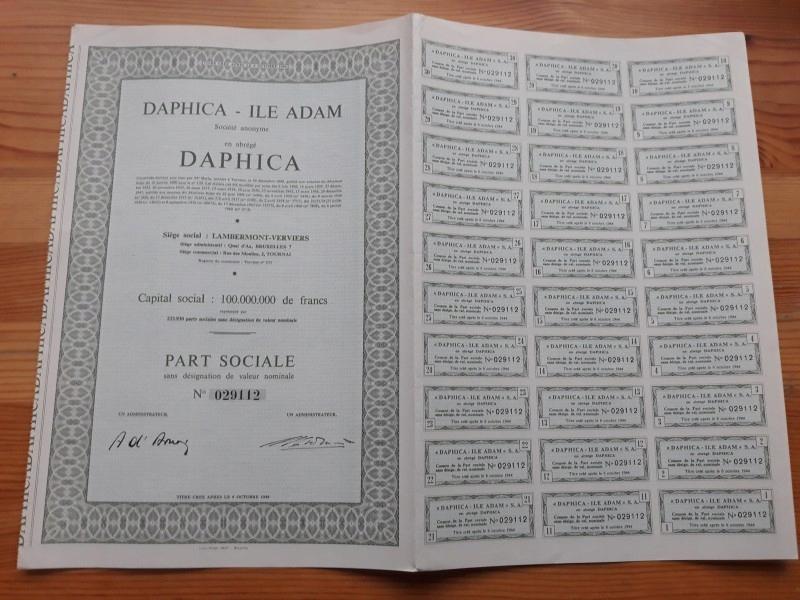 DAPHICA - ILE ADAM