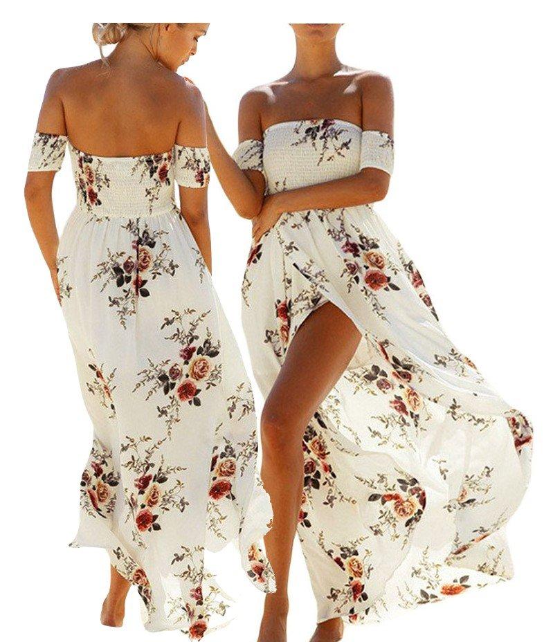 X150 Sukienka Letnia Boho Kwiaty Kolory Xs 7311094599 Oficjalne Archiwum Allegro