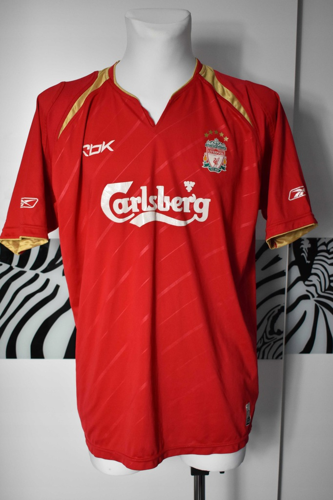 Liverpool reebok 2005 - 2006 koszulka sportowa