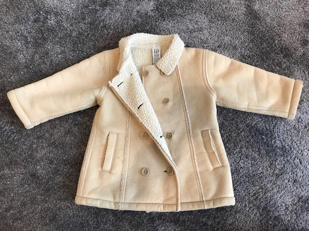 Płaszcz kożuch dla dzieci gap kurtka zima