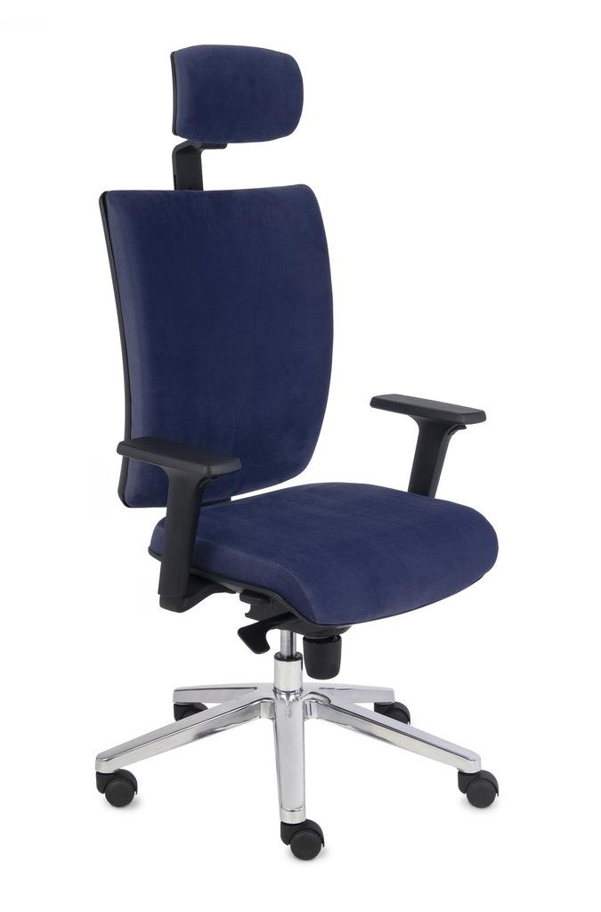 GROSPOL fotel biurowy KIM HD tkanina SKAJ krzesło