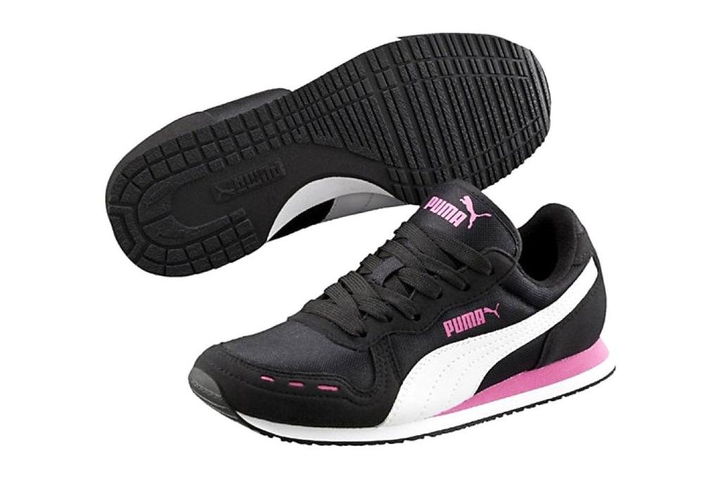 Czarne Buty Buty sportowe dziecięce Puma r.20